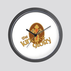 King Of Glory Wall Clock