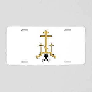 Golgotha Aluminum License Plate