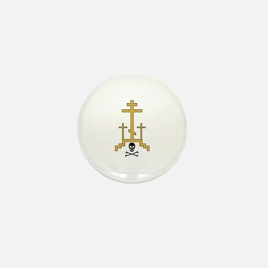 Golgotha Mini Button