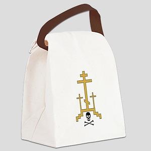 Golgotha Canvas Lunch Bag