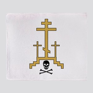 Golgotha Throw Blanket