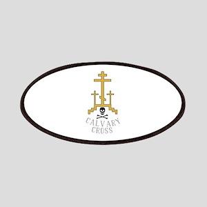 Calvary Cross Patch