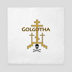 Golgotha Queen Duvet
