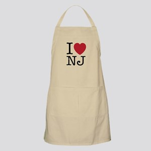 I Love NJ New Jersey Apron