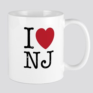I Love NJ New Jersey Mug