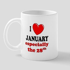 January 28th Mug