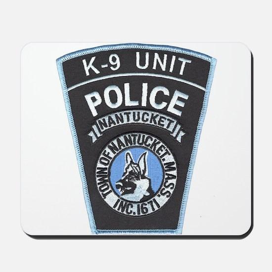 Nantucket Police K-9 Mousepad