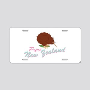Pure New Zealand Aluminum License Plate