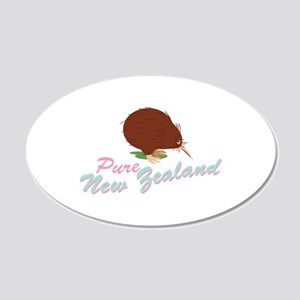 Pure New Zealand Wall Decal