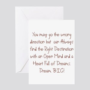Heart of Dreams Greeting Cards