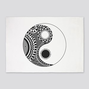 Yin Yang 5'x7'Area Rug