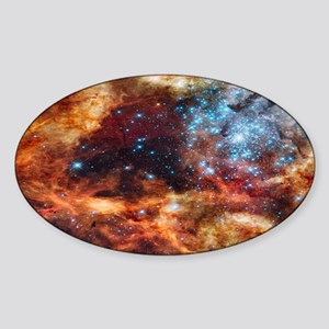 Tarantula Nebula Sticker (Oval)
