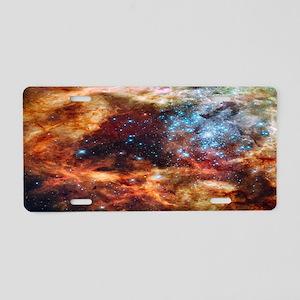 Tarantula Nebula Aluminum License Plate