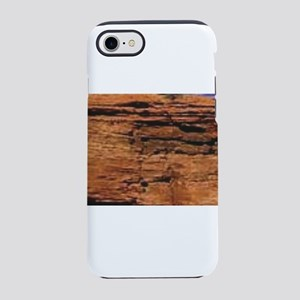 land layers in red iPhone 8/7 Tough Case