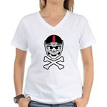 Lil' Spike CUSTOMIZED Women's V-Neck T-Shirt