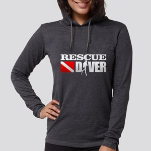 Rescue Diver 3 (blk) Long Sleeve T-Shirt