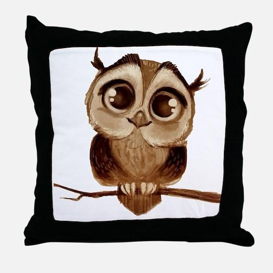 Cute Cute owls Throw Pillow