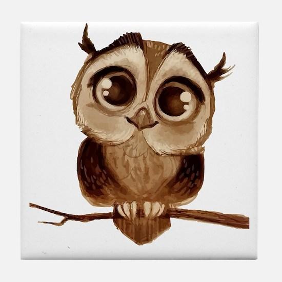 Funny T bird mens Tile Coaster