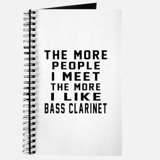 I Like More Bass Clarinet Journal