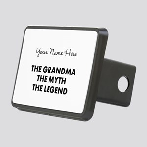Custom Grandma Myth Legend Rectangular Hitch Cover