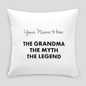 Custom Grandma Myth Legend Everyday Pillow