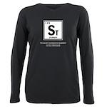 ST ELEMENT-STUPIDITY Plus Size Long Sleeve Tee