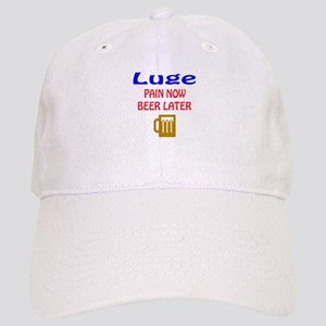 Luge Pain now Beer later Cap