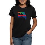 Destin Women's Dark T-Shirt