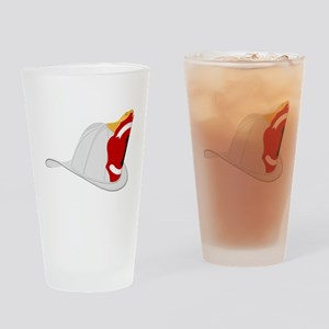 Traditional Fire Department Helmet Drinking Glass