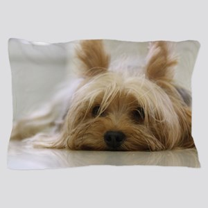 Yorkie Dog Pillow Case
