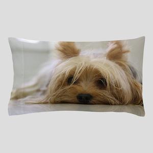 Yorkie Dog Pillow Case