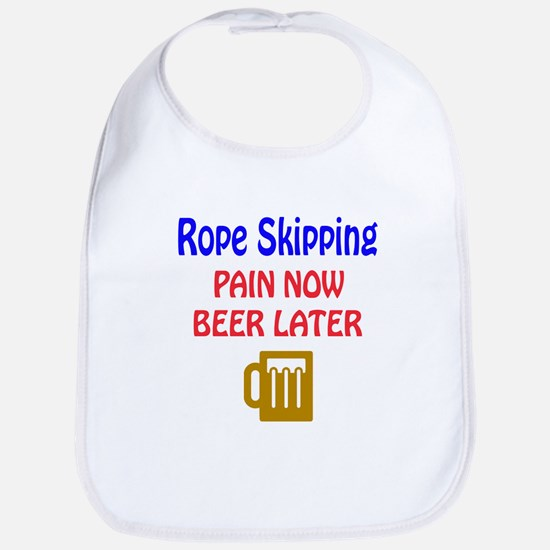 Rope Skipping Pain now Beer later Bib
