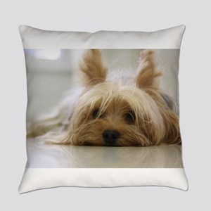 Yorkie Dog Everyday Pillow