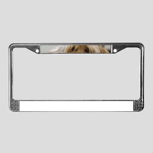 Yorkie Dog License Plate Frame