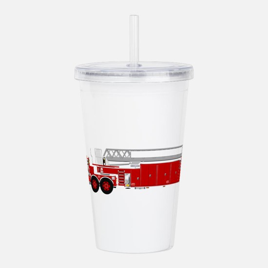 Fire Truck - Tradition Acrylic Double-wall Tumbler