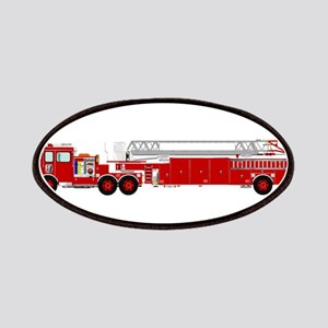 Fire Truck - Traditional ladder fire truck r Patch