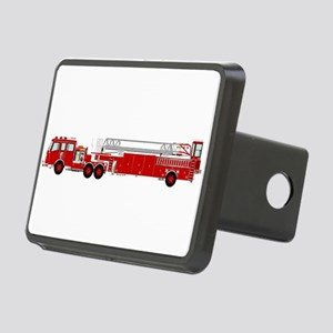 Fire Truck - Traditional l Rectangular Hitch Cover
