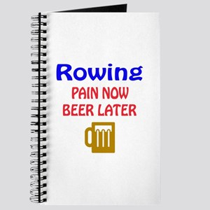 Rowing Pain now Beer later Journal
