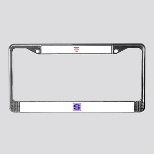 Rowing Pain now Beer later License Plate Frame