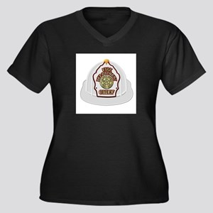 Traditional Fire Department Chie Plus Size T-Shirt