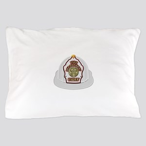 Traditional Fire Department Chief Helm Pillow Case