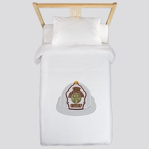 Traditional Fire Department Chief Helme Twin Duvet