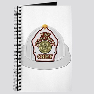 Traditional Fire Department Chief Helmet Journal