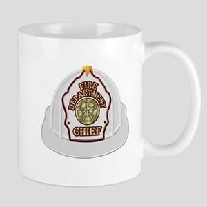 Traditional Fire Department Chief Helmet Mugs