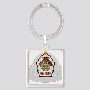 Traditional Fire Department Chief Helmet Keychains