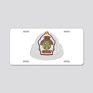 Traditional Fire Department Aluminum License Plate