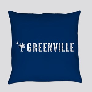 Greenville, South Carolina Everyday Pillow