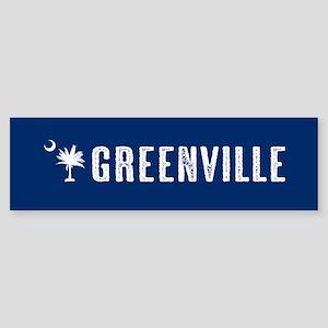 Greenville, South Carolina Sticker (Bumper)