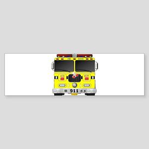 Fire Engine - Traditional fire engi Bumper Sticker