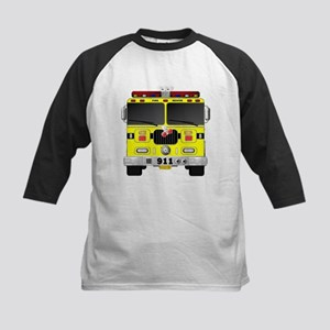 Fire Engine - Traditional fire eng Baseball Jersey